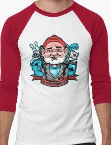 A Life Comedic Men's Baseball ¾ T-Shirt