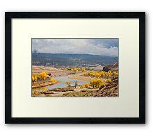 Green River Color Framed Print