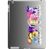 Friendship is Violent iPad Case/Skin