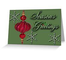 ❀◕‿◕❀ SEASONS GREETINGS ❀◕‿◕❀ Greeting Card