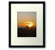Ottawa Sunrise Framed Print