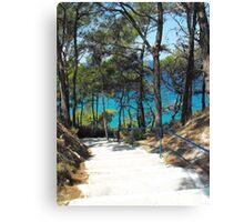 Greek Island Beach Samos Canvas Print