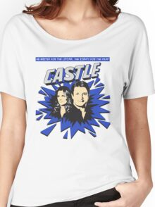 Castle Comic Cover Women's Relaxed Fit T-Shirt