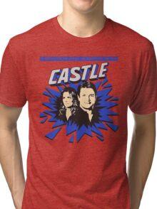 Castle Comic Cover Tri-blend T-Shirt