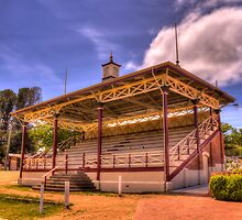 Grandstand Cooma Showground NSW by Kym Bradley