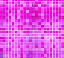 Pink Mosaic [iPhone / iPad / iPod Case] by Damienne Bingham