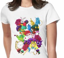 Wonderland Womens Fitted T-Shirt