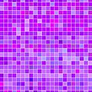 Purple Mosaic [iPhone / iPad / iPod Case] by Damienne Bingham
