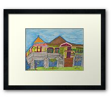 Dion Halse 'Queenslander House Series Image 1' Framed Print