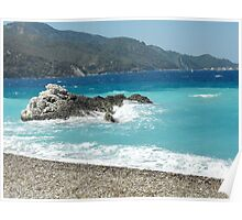 Greek Island Samos Beach 2 #photography Poster
