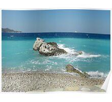 Greek Island Samos Beach 4 #photography Poster