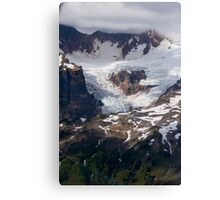 One of Many Glaciers on Mt Baker Canvas Print