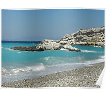 Greek Island Samos Beach 5 #photography Poster