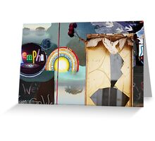 Memphis by Golden Greeting Card