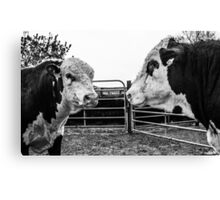 The Stand Off Canvas Print