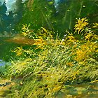 Golden Rod. by Guennadi Kalinine