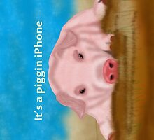 it's a piggin iphone by Moonlake