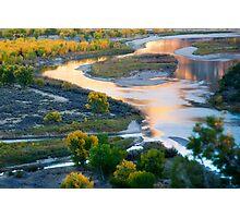 Island Park Autumn Reflections Photographic Print