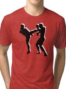 kickboxing t-shirt Tri-blend T-Shirt
