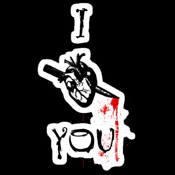 I heart you by GirlsnGuns
