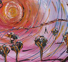 Tanya Darl 'Radiating' by AccessArtsBOA