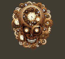 Steampunk Skull Vintage Style Unisex T-Shirt