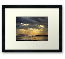 Sunrise at  Rathtrevor Provincial Park Framed Print