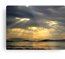 Sunrise at  Rathtrevor Provincial Park Metal Print