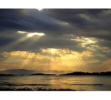 Sunrise at  Rathtrevor Provincial Park Photographic Print