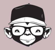 Hipster Monkey by jamiesonmurphy