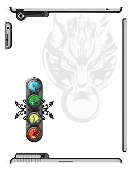 """Final Fantasy - Materia """" Elements"""" iPad case by Reverendryu"""