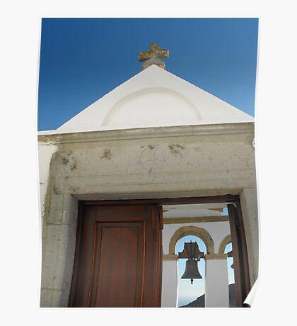 Greek Island Church bells 3 #photography Poster