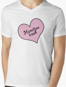 Hamilton trash Mens V-Neck T-Shirt