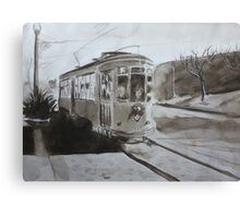 Line F  Canvas Print