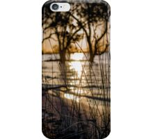 Menindee Sunset 1 iPhone Case/Skin