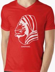 Wrex. Shepard. Mens V-Neck T-Shirt