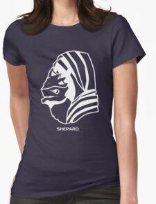 Wrex. Shepard. Womens Fitted T-Shirt