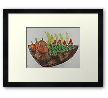 Andrew Pemberton 'Fruit Bowl' Framed Print