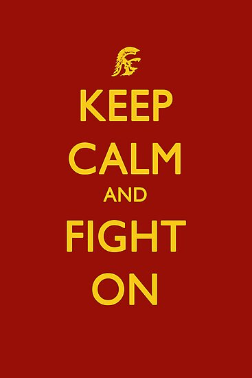 Keep Calm and Fight On by jdotcole