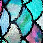 Turquoise mosaic by SylviaCook
