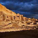 Chaco Canyon Stormlight by Kim Barton