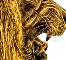 Wild nature - lion Sticker