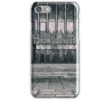 Building Entrance and Small Snow Flurry iPhone Case/Skin