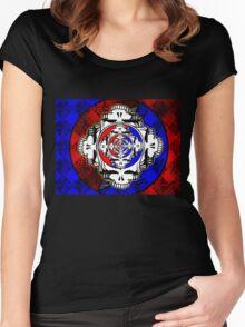 GRATEFUL DEAD FULL Women's Fitted Scoop T-Shirt