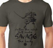 Mao - Civilize the Mind - Black Unisex T-Shirt
