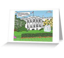Dessin général Petraeus scandale Greeting Card