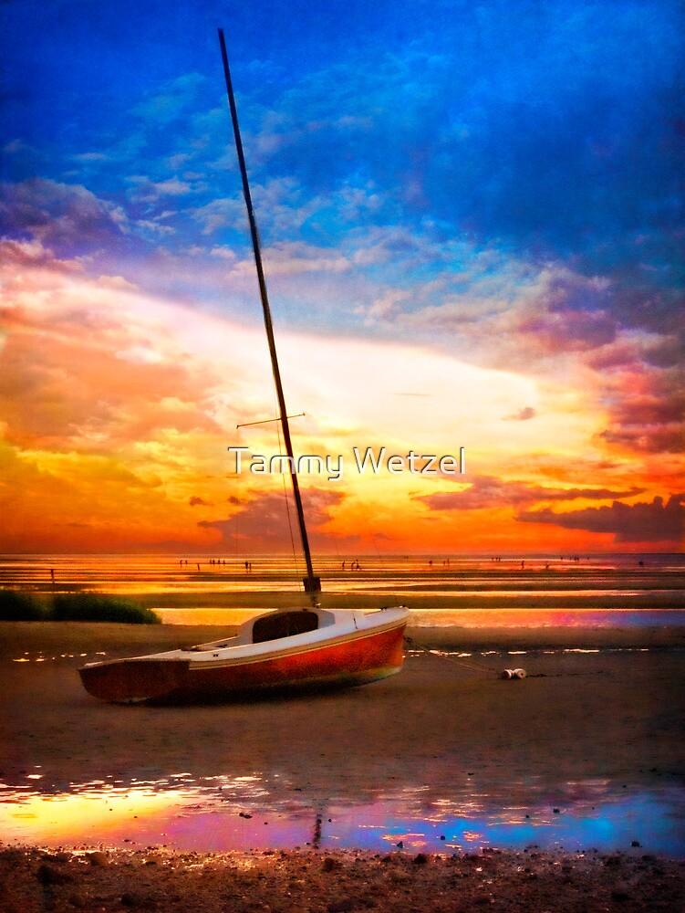 Sunset Sail by Tammy Wetzel