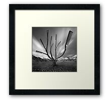Dandruff Tree Framed Print