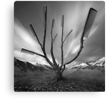Dandruff Tree Canvas Print