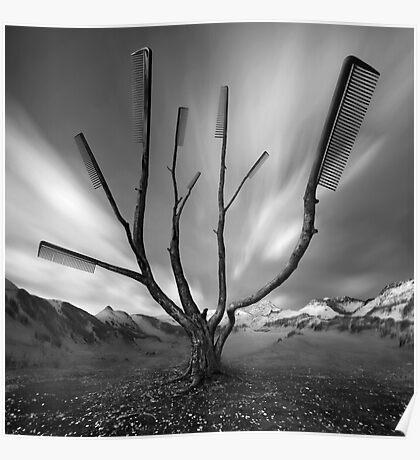 Dandruff Tree Poster